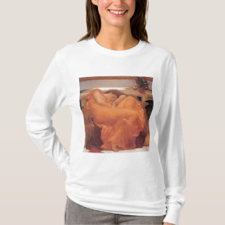 Flaming June by Frederick Leighton T-Shirt