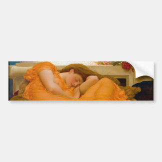 Flaming June by Sir Frederic Leighton Bumper Sticker