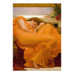 Flaming June by Sir Frederic Leighton Custom Invitations