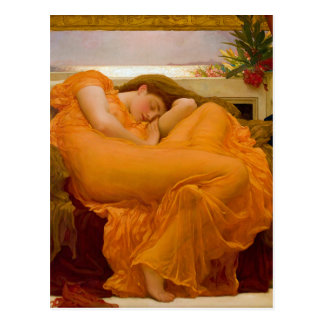 Flaming June by Sir Frederic Leighton Post Cards