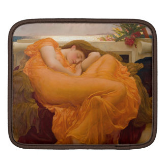Flaming June - Frederic Lord Leighton Sleeves For iPads