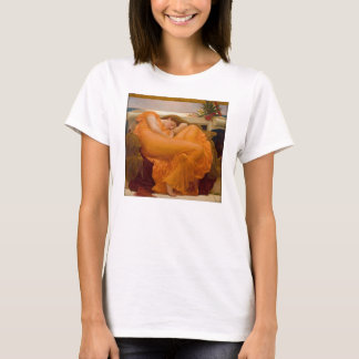 Flaming June - Frederic Lord Leighton T-Shirt