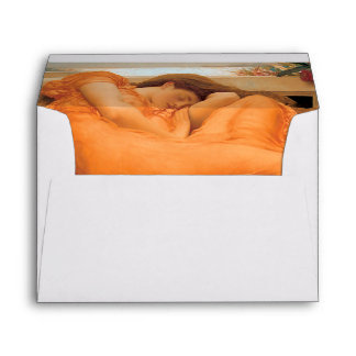 """""""Flaming June"""" interior by Frederic Leighton Envelope"""