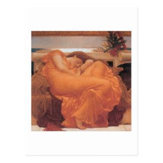 Flaming June - Lord Frederick Leighton Postcard