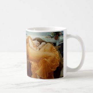 Flaming June Classic White Coffee Mug
