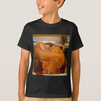 Flaming June Vintage Art Card Painting T-Shirt