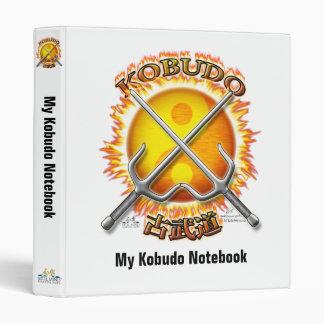 Flaming Kobudo Binder