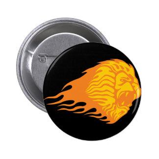 Flaming Lion #1 Pin