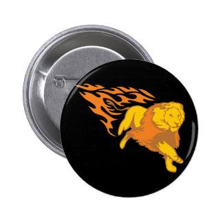 Flaming Lion #5 Pin