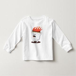 Flaming Marshmallow Tee Shirt