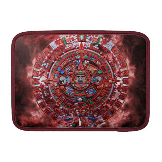 Flaming Mayan Calender MacBook Air Sleeve