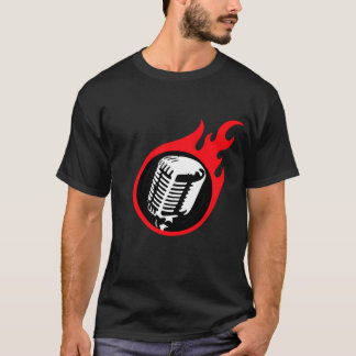Flaming Mic T-Shirt