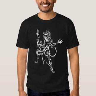 Flaming Monkey King T Shirt