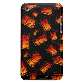 Flaming oil barrels Case-Mate iPod touch case