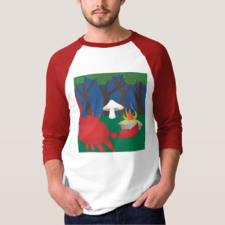 Flaming Pie Crab T-Shirt