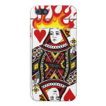 Flaming Queen iPhone SE/5/5s Cover