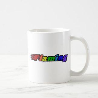 Flaming Rainbow Coffee Mug