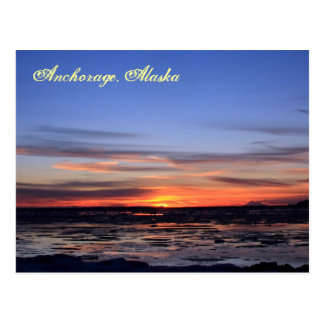 Flaming Redoubt Postcard
