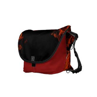 Flaming Rick-Shaw! Messenger Bag