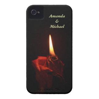 Flaming Rose iPhone 4 Case-Mate Case
