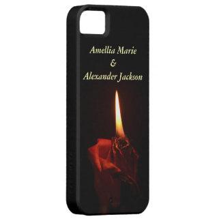 Flaming Rose iPhone SE/5/5s Case