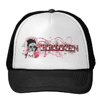 Flaming Rubies Inc. Broken Trucker Hat