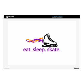 Flaming Skate Laptop Skin