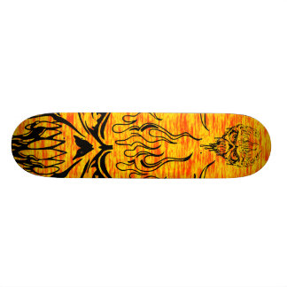 Flaming Skull Skateboards