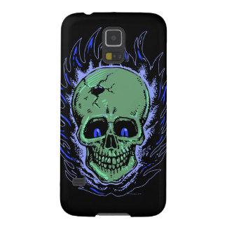 Flaming Skull Tattoo Galaxy S5 Case