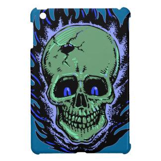 Flaming Skull Tattoo iPad Mini Case