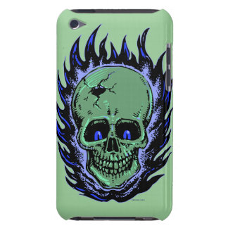 Flaming Skull Tattoo iPod Touch Case-Mate Case