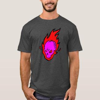 Flaming Skull Tee Dark