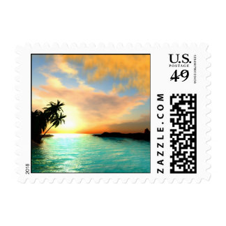 Flaming Sky Postage