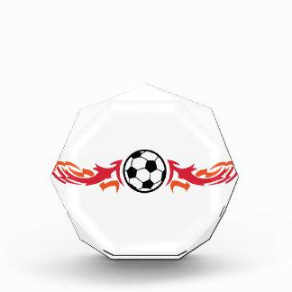 Flaming Soccer Ball Award