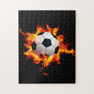 Flaming Soccer Ball Puzzle