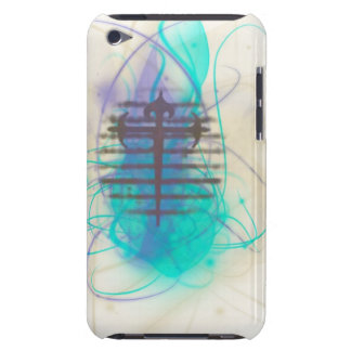 Flaming Soul Cross 2 Barely There iPod Case