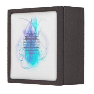Flaming Soul Cross Premium Jewelry Box