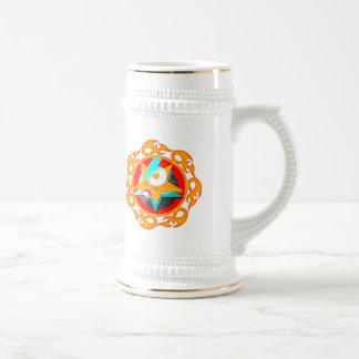 Flaming Star 6th Birthday Gifts Coffee Mugs