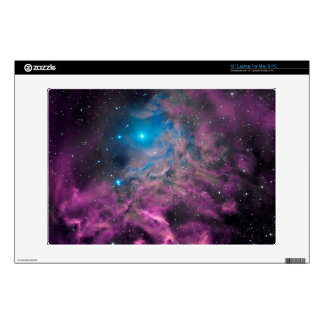 """Flaming Star Nebula Decals For 13"""" Laptops"""