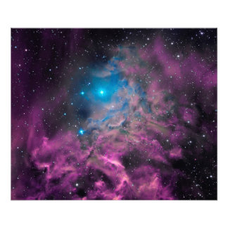 Flaming Star Nebula Photo Print