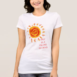 Flaming Sun Attitude T-Shirt