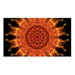 Flaming Sun Double-Sided Standard Business Cards (Pack Of 100)
