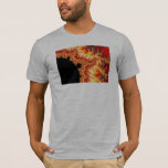 Flaming Sun - Fractal T-Shirt