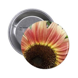 Flaming Sunflower ~ button