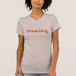Flaming. T-Shirt