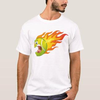 Flaming Tennis Ball T-Shirt
