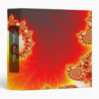 Flaming Tentacle - Fractal Art Binder