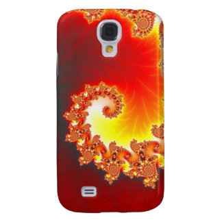 Flaming Tentacle - Fractal Art Samsung Galaxy S4 Case