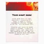 Flaming Tentacle - Fractal Art Flyer