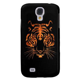 Flaming tiger samsung galaxy s4 case